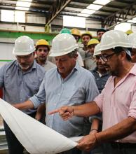 Peppo ratificó su apoyo al sector industrial para la  generación de valor agregado y puestos de trabajo
