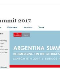 Revista The Economist realizará en marzo una cumbre empresarial en la Argentina