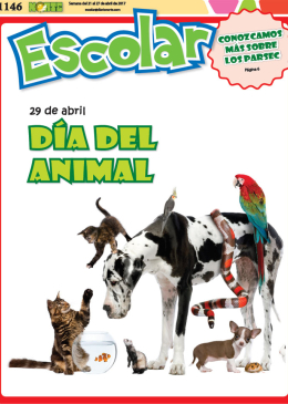 29 de abril: Día del Animal