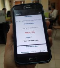El Tribunal electoral lanzó una aplicación para celulares con el padrón