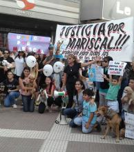 Vecinos marcharon para pedir justicia por Mariscal