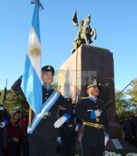 Día de Bandera: Resistencia recordó el rol que tuvo Belgrano en el desarrollo del país