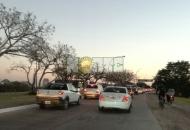 El ingreso a Resistencia por avenida Sarmiento se vuelve una odisea cada fin de semana