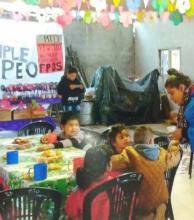 El merendero Darío Santillán celebró su aniversario junto a los niños