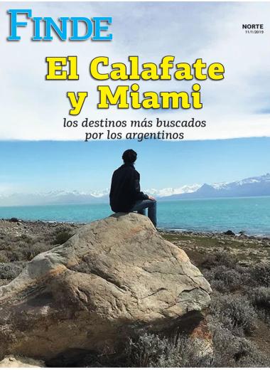 El Calafate y Miami los destinos más buscados por los argentinos