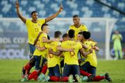 Colombia, de la mano de Edwin Cardona, festejó ante Ecuador en Cuiabá