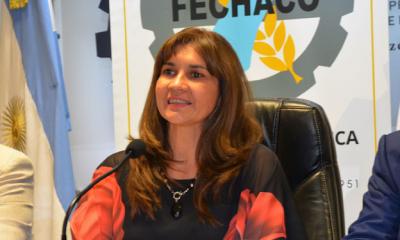 Silvia Reyero, primera mujer que llega a la conducción de la Fechaco