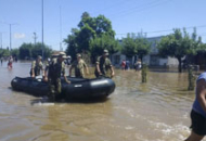 Confirman que hay un muerto por las inundaciones en La Emilia