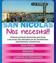 Deportistas solidarios por los inundados de La Emilia