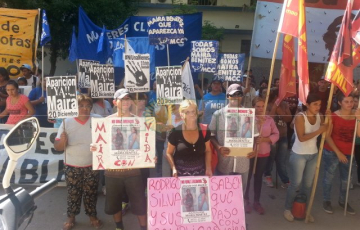 Marcha por Maira Benítez a dos meses de su desaparición
