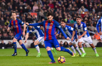 Messi, con dos goles, salvó al Barcelona sobre el final ante Leganés