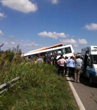 Al menos trece personas murieron por un choque de colectivos cerca de Rosario