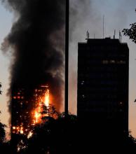 El letal incendio en torre de Londres se inició con falla en refrigerador