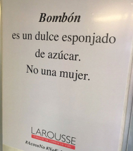 Larousse explica a los hombres que #NoEsLoMismo
