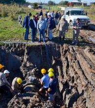 Reparan el acueducto Barranqueras – Sáenz Peña por una pérdida