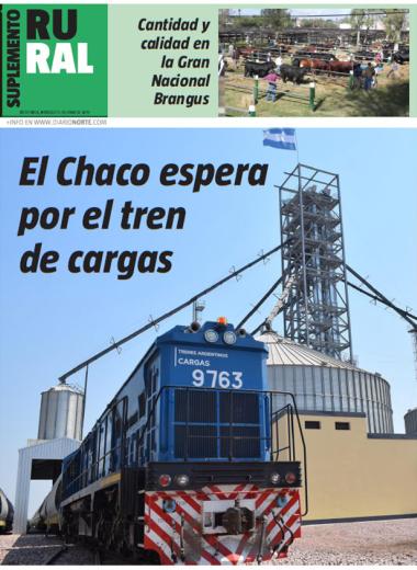 El Chaco espera por el tren de cargas