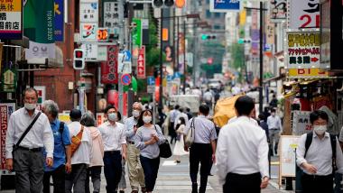 pandemia en Japón