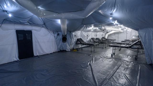 Así es hospital móvil donado por el Comando Sur de los Estados Unidos para la lucha contra el COVID-19